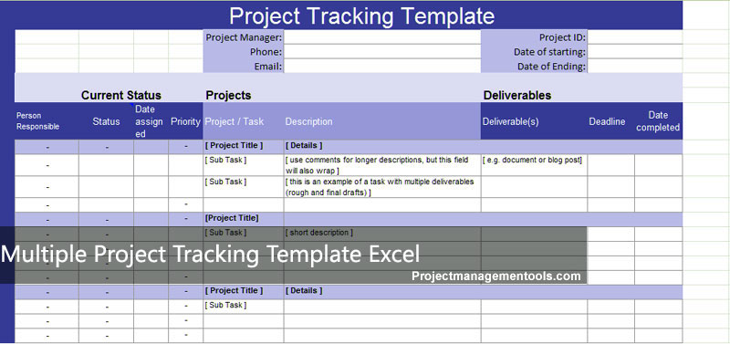 Project-Tracker-Excel-Template