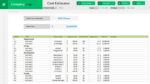 Project Cost Estimation Template
